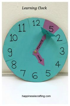 Learning Clock For Kids