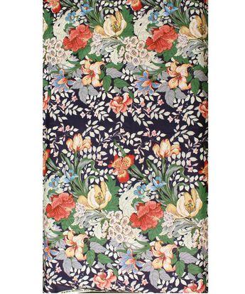 Vintage Schumacher Floral Fabric by High Street Market
