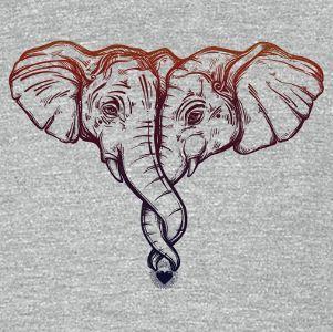 Hugging Elephants - #Elephants #hugging