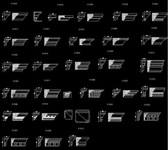 CAD Library-AutoCAD Blocks & Drawings : ☆【Decoration Elemen
