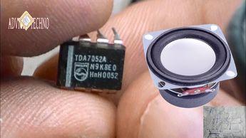 a simple amplifier audio with tda 7052a  un semplice amplificatore audio...