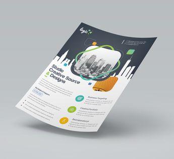 Artemis Elegant Corporate Flyer Template - Graphic Templates