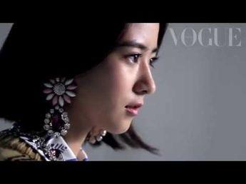 黒島結菜が大人モードに変身したら?_Vogue Japan