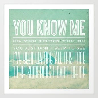 The Format - The First Single (You Know Me) Art Print by J.J. del Rosario - $14.99