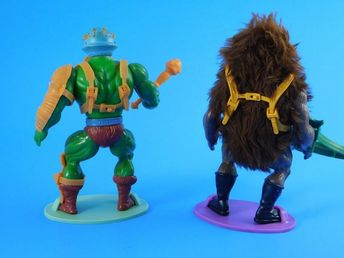 He-Man Action Figure Stands-Vintage Masters of the Universe MOTU