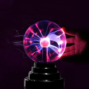 Gifted Touching Decoration Glass Plasma Ball Lamp -