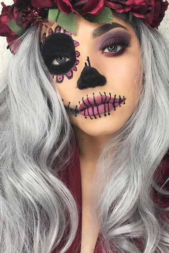 36 Best Sugar Skull Makeup of This Season