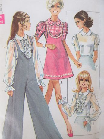 87bb93f2d0 Vintage sewing pattern   McCalls 7389   1960s Babydoll Nigh
