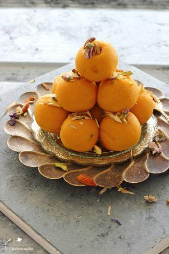 Mango, Badam , Coconut Ladoo