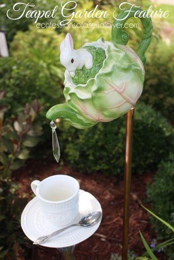 Tea Pot Garden Feature Tutorial