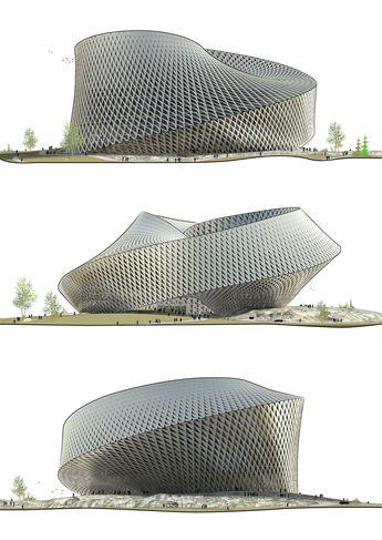 National Library in Astana, Kazakhstan / BIG