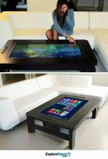 Tablet  coffee table