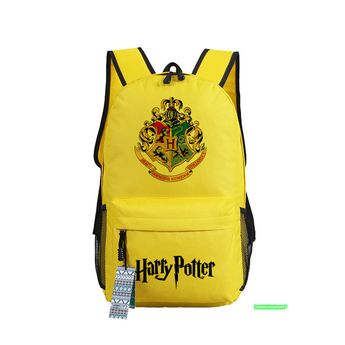 Harry Potter Boy School Bag Anime Backpacks Children Book Shoulder Bags  Teenage Rucksack Students Girl Backpack bcd481b0967ae