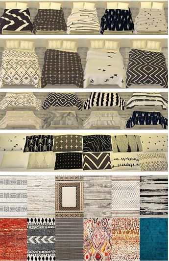 Pure Sims: Neutral bedding collection