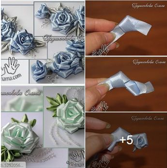 silk ribbon for embroidery #Silkribbonembroidery