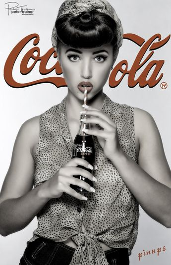 Photograph Coca-Cola pinup by Peter Trainer on 500px