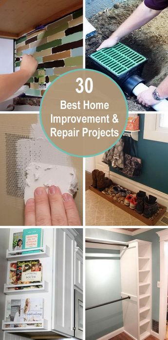30+ Best Home Improvement and Repair Projects
