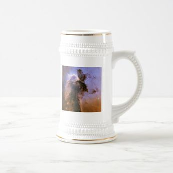 Eagle Nebula by Hubble Beer Stein