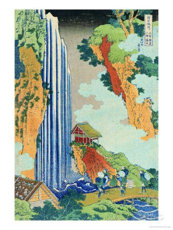 Ono Waterfall, the Kiso Highway