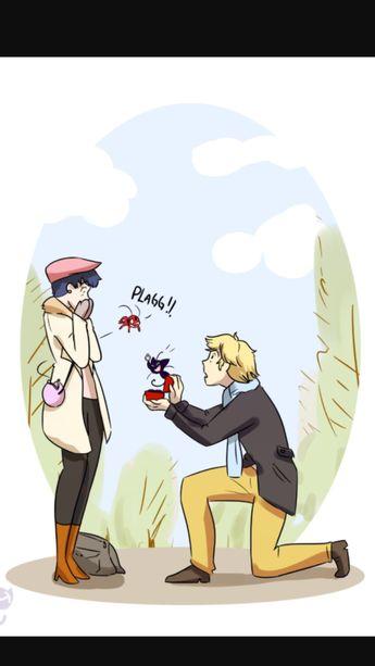 Miraculous ladybug dating fanfic