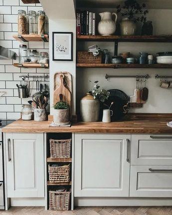 37+ Stylish Rustic Kitchen Farmhouse Style Ideas You Must Try #kitchendecor #kitchendesign #kitchenideas ~ Gorgeous House