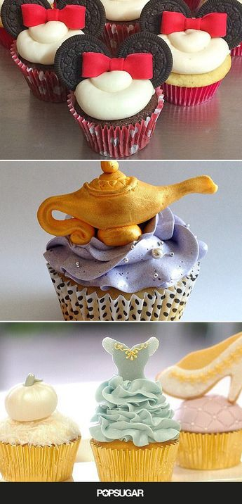 Your Inner Child Will Go Wild For These Disney Cupcakes