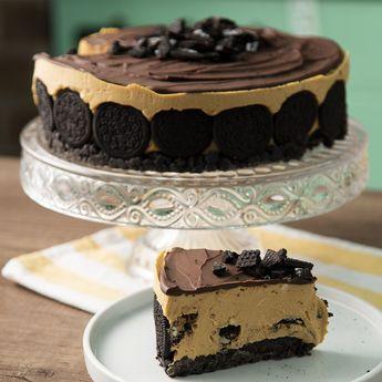 Torta de Oreo y Dulce de Leche