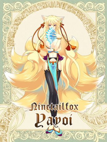 List of attractive nine tails fox girl ideas and photos | Thpix