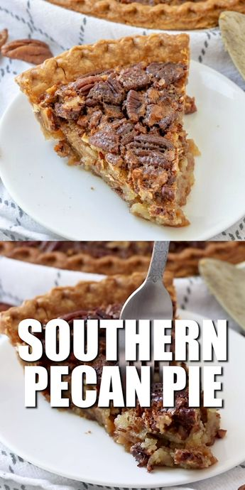 Best southern pecan pie