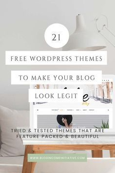 21 Best Free WordPress Blog Themes. Read the post to find my list of mobile responsive feature-rich and beautiful Free WordPress Themes. Find out how to make your Blog beautiful without spending a Dime...