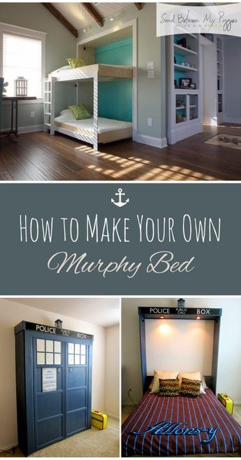 How to Make Your Own Murphy Bed