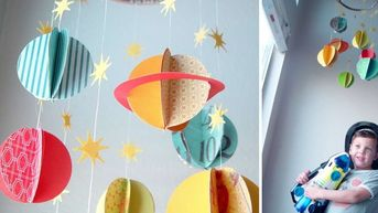 10 idées de bricolages pour les enfants passionnés par l'espace