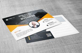 Premium Stylish Postcard Design - Graphic Templates