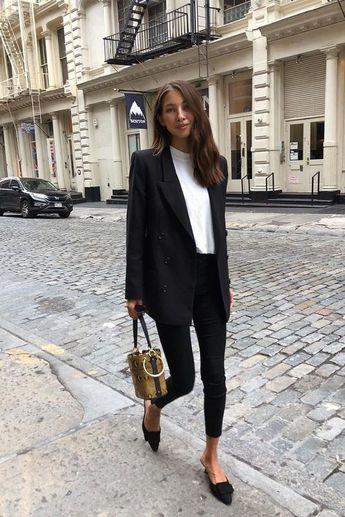 22 Stylish Outfits With Black Blazer Glamsugar.com