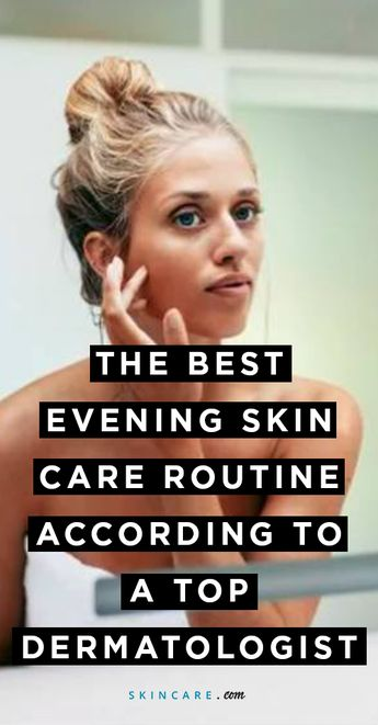 4-Step Nighttime Skin-Care Routine