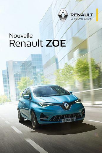 Nouvelle Renault ZOE: la voiture électrique qui ne change rien à votre quotidien, et ça change tout.