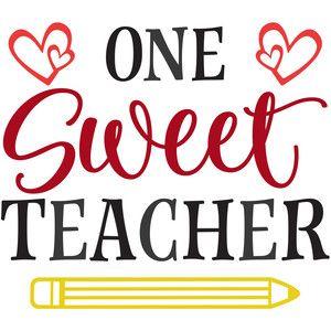 one sweet teacher