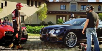 Bentley Continental GT (2012) car in AYO by Chris Brown (2015) @bentleymotors