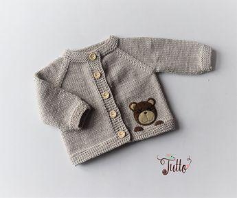 21a309fca Baby boy sweater jeans blue sweater merino wool sweater kn