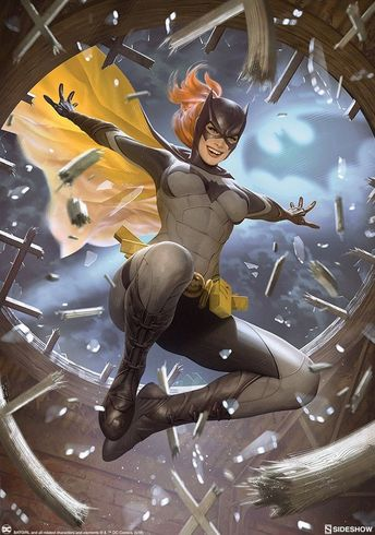 DC Comics. Comic Book Artwork • Batgirl by Alex Garner. Follow us for more awesome comic art, or check out our online store www.7ate9comics.com
