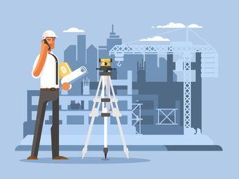 Foreman on construction illustration