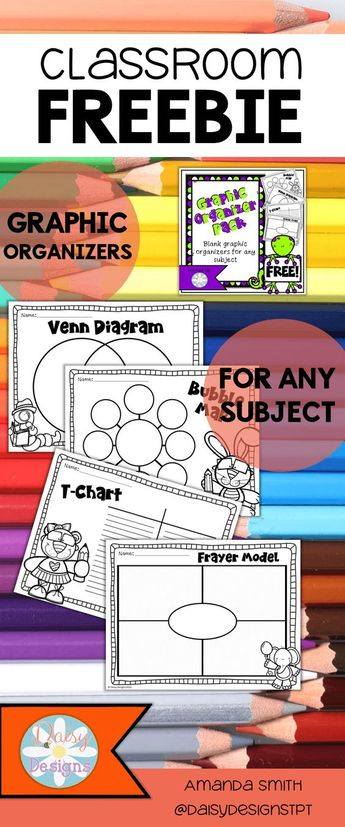 Graphic Organizers (FREE Printables)