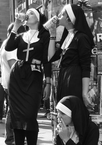 Beer nons : l' alcool rapproche du Seigneur c'est vrai !