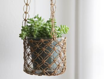 10 Small Space Hanging Gardens