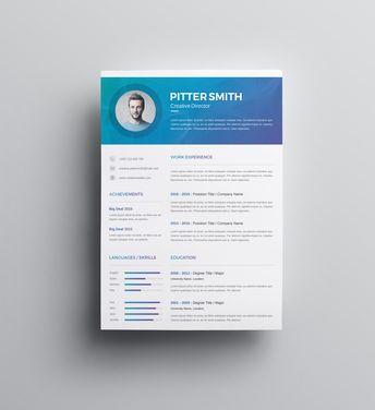Hera Premium Professional Resume Template - Graphic Templates