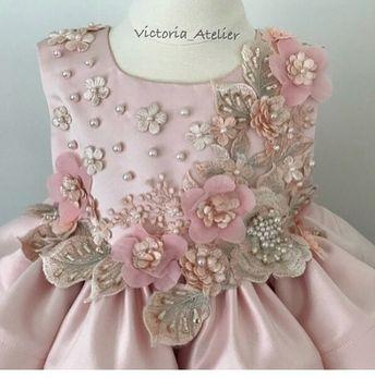 ef44ae233 Blooming flowers 🌸✨#victoriaatelier #custom #dress #flowers #flowergirl  #christening