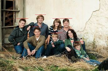 Photography Poses Ideas : Large family posing tips....