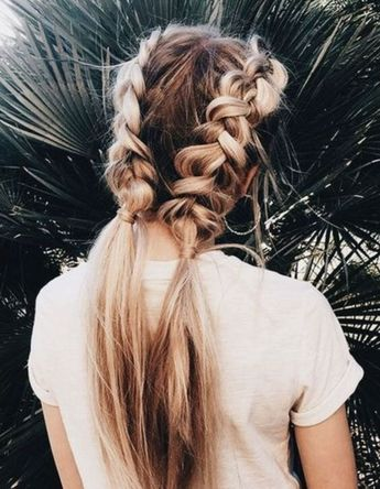 42 Double Braids You Can Select For Your Style In Winter