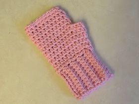 Two Little C's: Simple Fingerless Gloves for the Whole Family