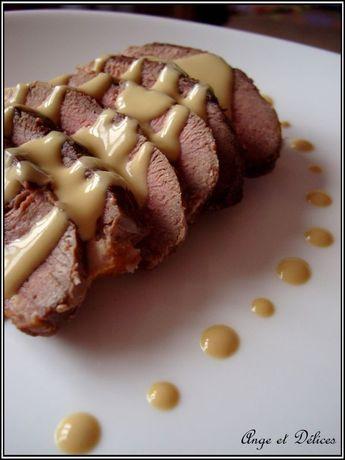 Magret de Canard sauce au foie gras - Ange et Délices